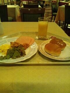ホテルキャメロットジャパンの朝食